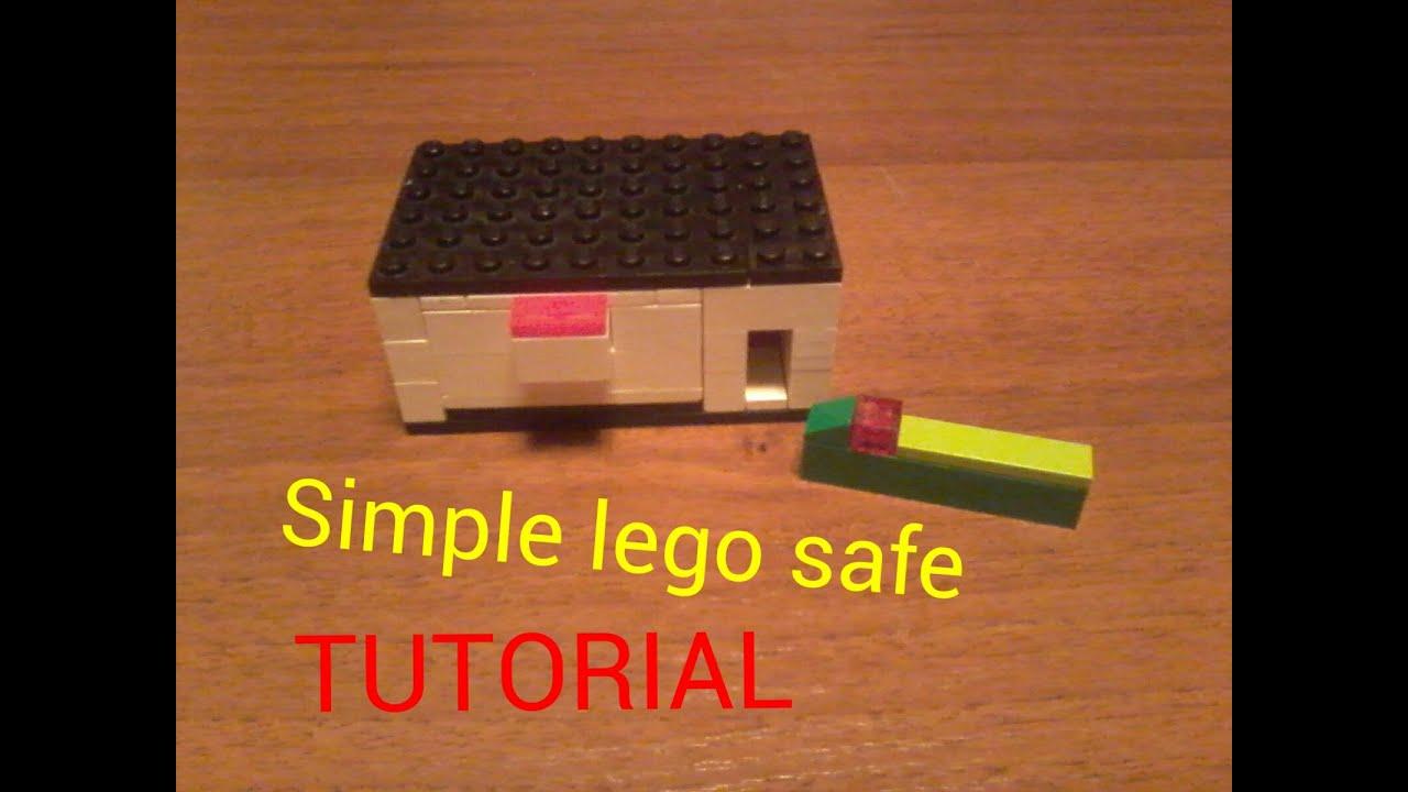 Как сделать сейф из лего очень легко и красиво9
