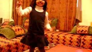 Mauritanian Girl Dancing