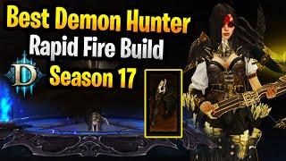 Best Rapid Fire Demon Hunter Build Diablo 3 Season 17 Rapid Fire LON Wojanni