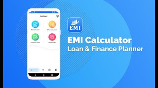 EMI Calculator - Loan & Finance Planner (All in One Finance Calculator App)