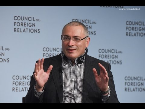 A Conversation With Mikhail Khodorkovsky