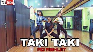 Taki Taki Dj Snake Feat Selena Gomez Ozuna Cardi B Ad Abhijit Choreography