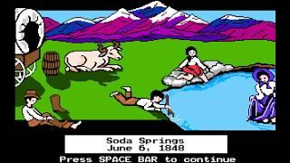 Sam & Lenin play The Oregon Trail