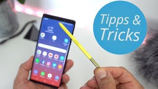 Samsung Galaxy Note 9: Tipps, Tricks und S-Pen Features | deutsch
