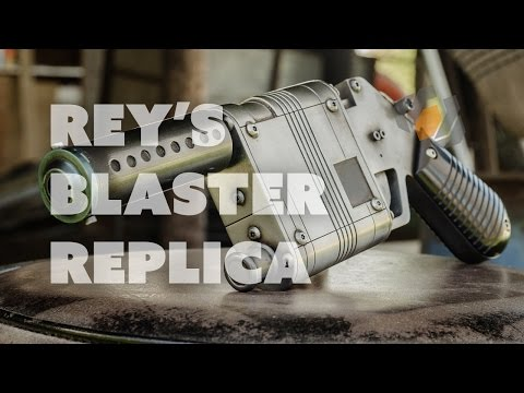 How to Make Rey's Star Wars Blaster - Prop: Shop Tutorial