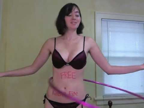 Bikini Girl Hula Hoops for Free Kindle Fire