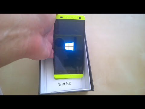 Unboxing do BLU Win HD com Windows Phone 8.1 em Português Brasil