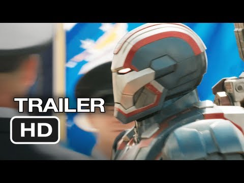 Iron Man 3 is listed (or ranked) 22 on the list New Movie Trailers 2012