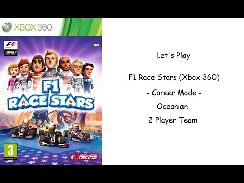 Let's Play - F1 Race Stars (Xbox 360) 3 - Oceanian - 2 Player Team