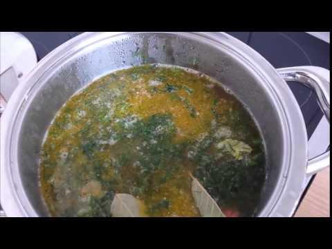 рецепт горохового супа в посуде AMC