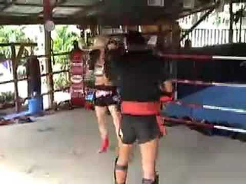 Tiger Muay Thai: Pad training w/ Lumpinee Champion Noppadech Image 1