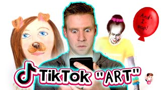 ART on TIKTOK?! - This was NOT what I expected...