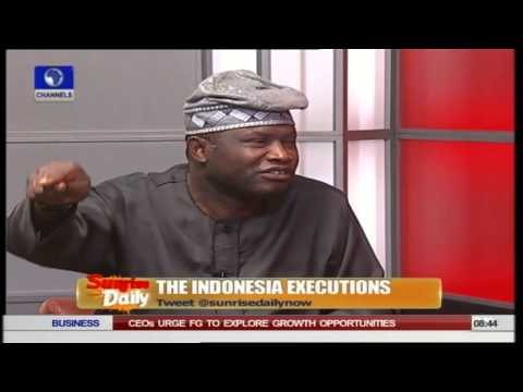 Legal Practitioner Speaks On Indonesia Executions PT1 01/05/15