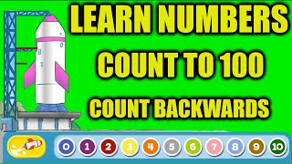 Apps for Kids : Learn to Count to 100 | Learn Numbers for Kids & Counting Backwards Learning Games