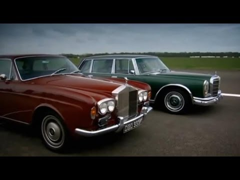 Grosser vs. Corniche old car challenge part 1 - Top Gear - BBC
