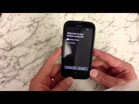 Nokia Lumia 510 Hard Reset / Remove Password