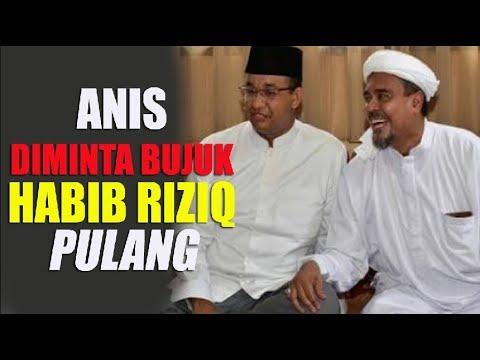 Setelah Dilantik, Anies Diminta Bujuk Habib Rizieq Segera Pulang