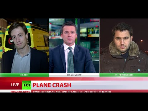 7K9268: Russian passenger jet with 224 on board crashes in Egypt, no survivors