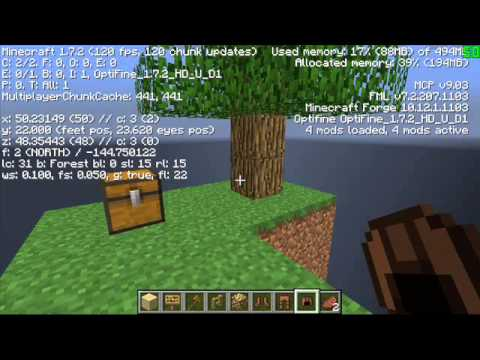 Minecraft Skyblock Server (cracked) 1.7.2
