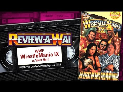 WrestleMania 9 Review: Bret Hart vs Yokozuna   REVIEW-A-WAI
