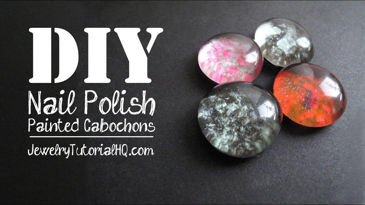 Diy Nail Polish Painted