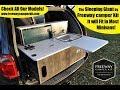 Turn key Camper van conversion kit, Freeway Camper Kit, van life, van dwelling, cheap RV