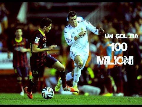GARETH BALE - 100 MILLION GOAL | UN GOL DA 100 MILIONI - Barcellona Real Madrid 1-2
