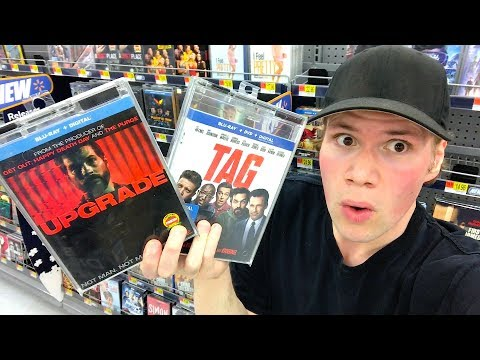 Blu-ray / Dvd Tuesday Shopping 8/28/18 : My Blu-ray Collection Series