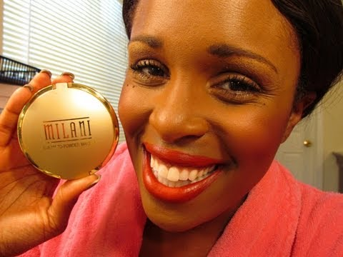 APPLICATION   MILANI CREAM-TO-POWDER FOUNDATION   REVIEW
