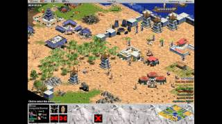 Minoan vs 7 Hardest Randoms. Random Map. Age of Empires.