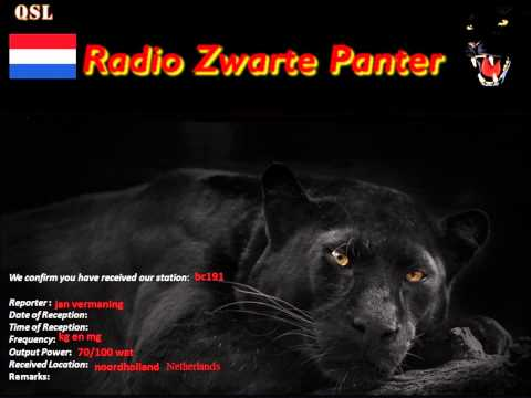 Shortwave station Zwarte Panter (Black Panter) 6430Khz