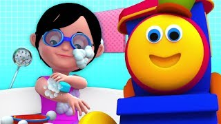Baby Bath Time | Bob The Train | Nursery Rhymes For Kids | Cartoons Videos