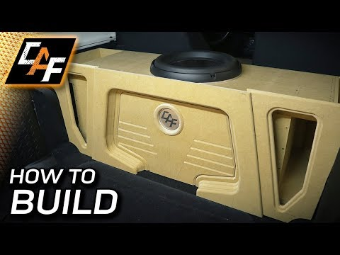 Subwoofer Box Beauty Panel Build - How To!