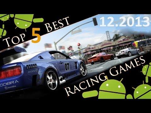Top-5 Best Android Racing Games 2013/Лучшие гоночные игры для Android в 2013