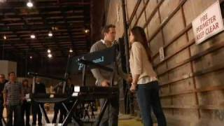 The Proposal - on set with Sandra and Ryan
