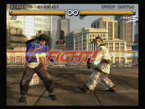 Tekken 5 - Lei (part 1 2) video