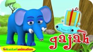 Gajah Kecil Kita | Lalala Indonesia | Kastari Animation Official