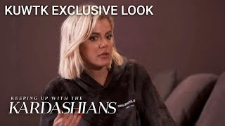 Khloé Reveals How She Feels About Ex-Lamar Odom Telling His Truth | KUWTK Exclusive Look | E!