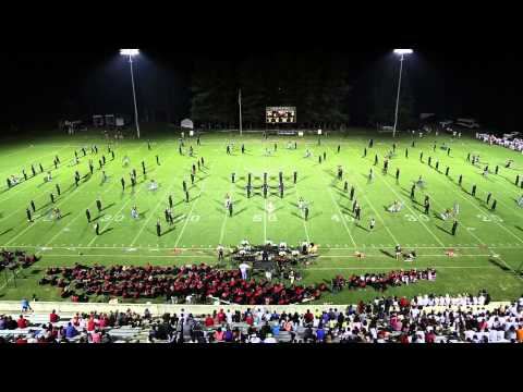 East Hall High School Viking Marching Band 09-19-2014 (East Hall Vs. Jackson County)