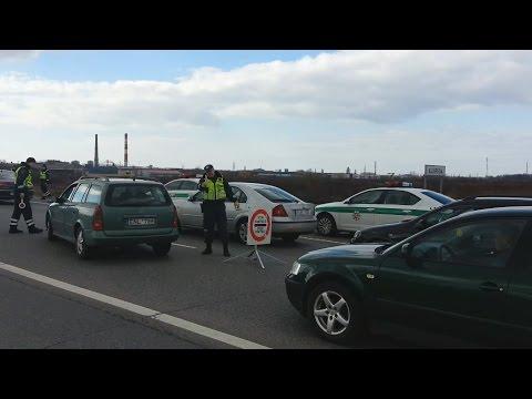 Kelių policijos reidai Velykų savaitgalį