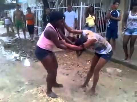 Peleas de mujeres dominicanas 2014