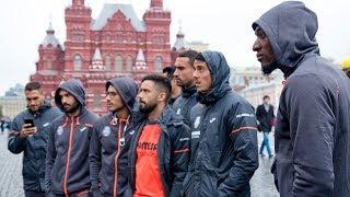 ¡Tour del Villarreal por Moscú!