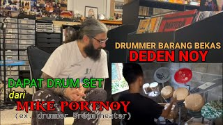 Main Lagu Dream Theater Pakai Drum Barang Bekas, Deden Noy Dapat Hadiah dari Mike Portnoy