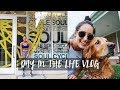 VLOG: Day in the Life || The Stress of SoulCycle Signups + Food Diary + Car Ride Jams