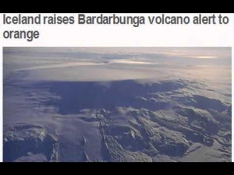 Iceland Volcano is on Alert! Bardarbunga