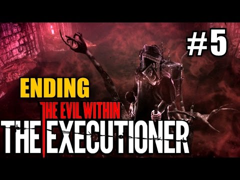 EVIL WITHIN DLC THE EXECUTIONER #5 Ending Dark Keeper ★ pc let's play gameplay walkthrough