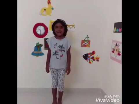 Kisne banaya phoolon ko : Satvi's recital thumbnail