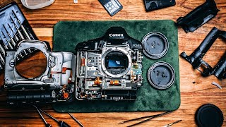 WHAT'S INSIDE A $6,000.00 CAMERA?!