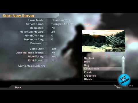[How To] Play Call of Duty 4 LAN Online Tutorial (Tunngle Optional)