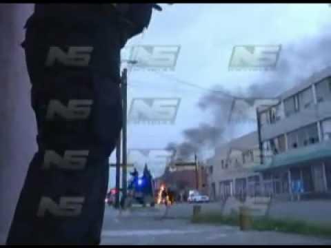 VIDEO DE  CUANDO EXPLOTA EL COCHE BOMBA EN CIUDAD JUAREZ